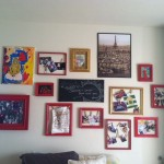 Diy Painted Picture Frame Collage