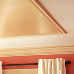Diy Project Metallic Painted Ceiling