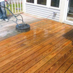 During The Decks Surface And Bdr Painting Deckcolumbus Indiana Deck