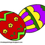 Easter Egg Decorating Painting Ideas Models