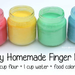 Easy Homemade Finger Paints