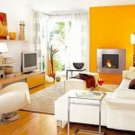 Exciting Yellow Living Room
