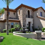 Exterior House Painting Stone Color Design Wonderful