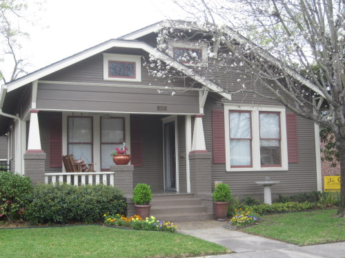 Exterior Paint Ideas The Other Houston Bungalow Colors Some