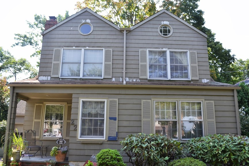 Exterior Painting Custom Built Window Trim And Crown Molding