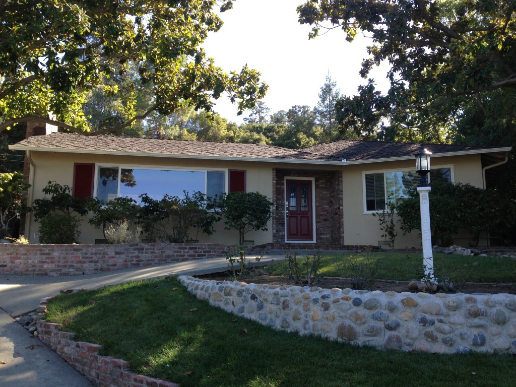 Exterior Painting Project Completed Los Gatos