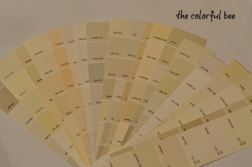 Fan Deck Benjamin Moore Whites And Off