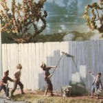 Fence Painting Diarama The Tom Sawyer Diorama Museum Hannubal