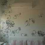 Flower Wall Paint Designs