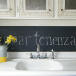 For Classic Blackboard Effect Turn Your Kitchen Into French Caf