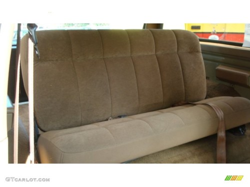 Ford Bronco Eddie Bauer Interior Color