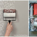 Found These Patterned Paint Roller From The Painted House
