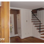 Found This Before After Here Have Exact Color Wood Paneling