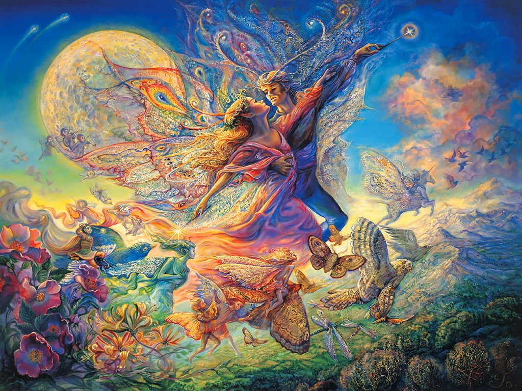 Free Picture Art Josephine Wall Fantasy Painting