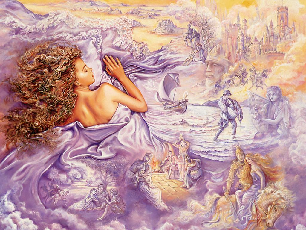Free Picture Art Josephine Wall Oil Painting
