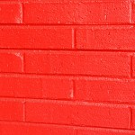 Free Red Painted Brick Wall Texture