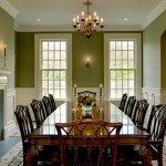 French Grey Dining Room Paint Large Square Table