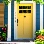 Fresh Ideas For Front Doors