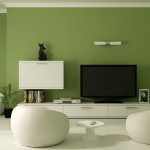 Green Paint Color Modern Living Room Design Ideas Liftupthyneighbor