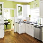 Green Wall Kitchen Painting Colors Ideas