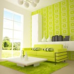 Green White Paint Color Schemes Small Living Room Modern