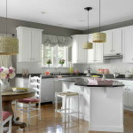 Grey And White Paint Ideas For Unique Ambiance Nice Kitchen