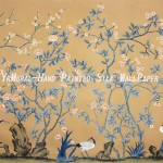 Hand Painted Chinese Style Silk Murals Yrs