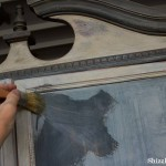 Hand Painted Furniture Creating Texture Clay Paint