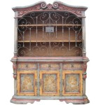 Hand Painted Hutch Leor Furniture Finds And More Unique Home