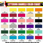 Here Are The Shot Colors Available