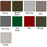 House Color Chart