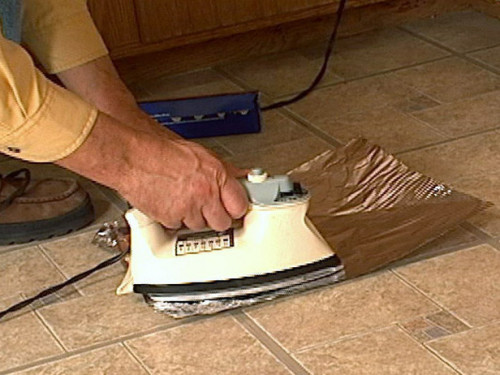 How Fix Curling Vinyl Floor Tile
