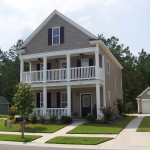 How Paint Brown And White Color House Exterior