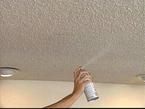 How Paint Over Popcorn Ceiling