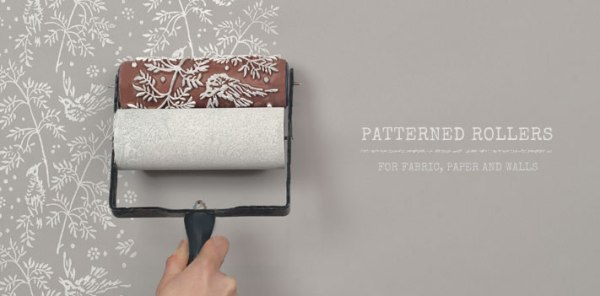 How Paint Patterned Rollers