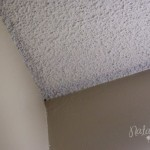 How Paint Popcorn Ceiling