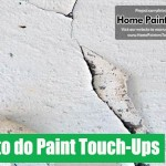 How Paint Touch Ups And Small Wall Repairs
