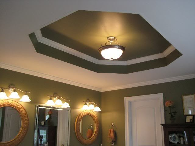 How Paint Tray Ceilings Color