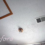 How Remove Popcorn Texture From Ceiling That Has Been Painted