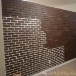 How Wanted Paint The Brick Some Extra Pieces Paneling