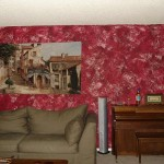 How You Faux Paint Wall Red Design