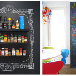 Ideas For Chalkboard Paint Idea Blackboard