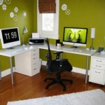 Ideas Painting Home Office Interior Design Modern Space Desk