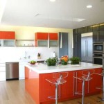 Interior Paint Color Schemes Tangerine Tango
