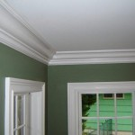 Interior Paint Crown Molding Trim Window Baseboard