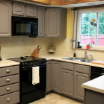 Kitchen Cabinet Painting Color Ideas Grey Home Decorating For