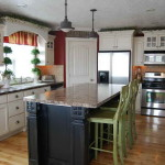 Kitchen Paint Color Ideas White Cabinets And Chairs Green