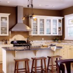 Kitchen Paint Color Ideas White Cabinets And Wall Brown