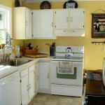 Kitchen Paint Color Ideas White Cabinets And Wall Yellow