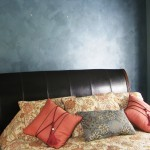 Metallic Painted Accent Wall